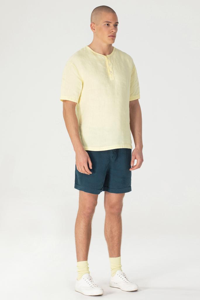 T-Shirt Habanero Lichtgeel 1