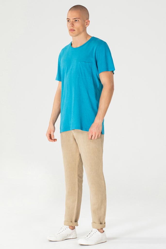 T-Shirt Hovito Oceaanblauw 3