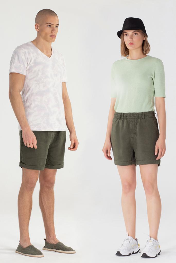 Shorts Ancho Donkergroen 5