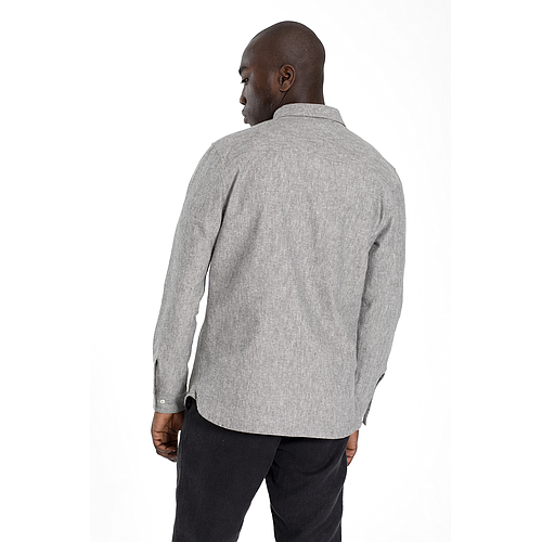 Long Sleeve Shirt - Pete - Grey
