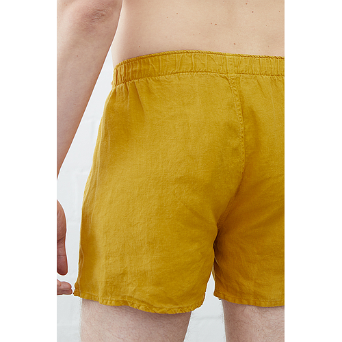 Boxer Shorts - Kunta - Old Gold Yellow